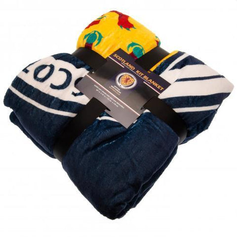 Scotland FA Sherpa Fleece Blanket