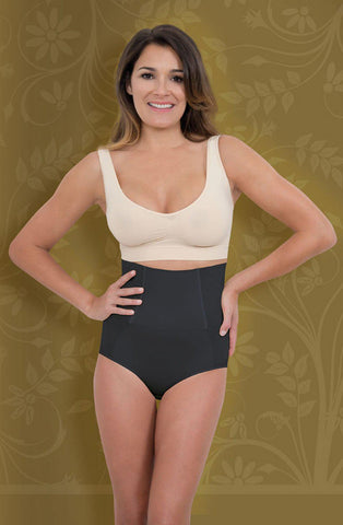 High Copression Brief Nero Women Briefs Shapewear | AYNAYA Women's Lingerie