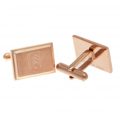 Fulham FC Rose Gold Plated Cufflinks