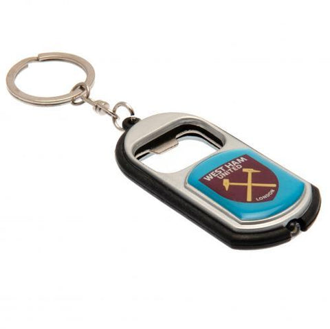 West Ham United FC Key Ring Torch Bottle Opener