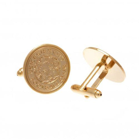 Leicester City FC Gold Plated Cufflinks