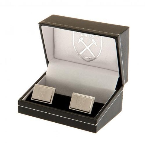 West Ham United FC Stainless Steel Cufflinks