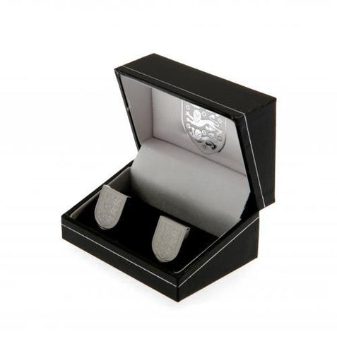 England FA Stainless Steel Formed Cufflinks