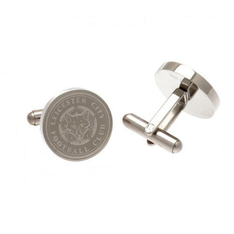 Leicester City FC Stainless Steel Formed Cufflinks