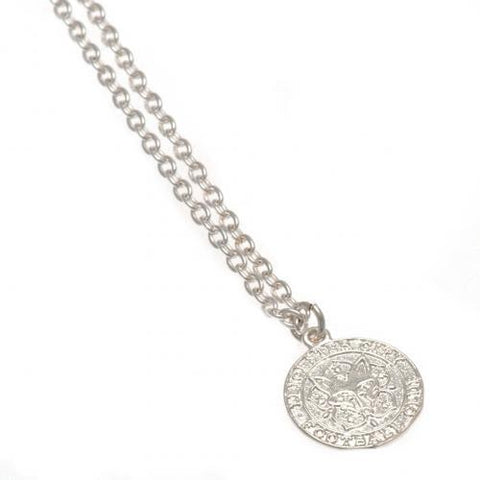Leicester City FC Silver Plated Pendant & Chain