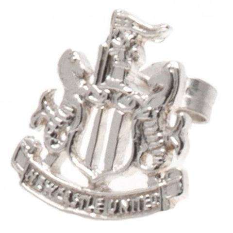 Newcastle United FC Sterling Silver Stud Earring