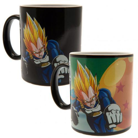 Dragon Ball Z Heat Changing Mug Saiyans