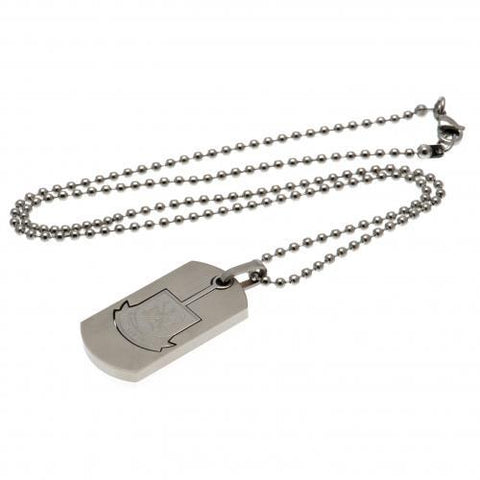 West Ham United FC Dog Tag & Chain CO CT