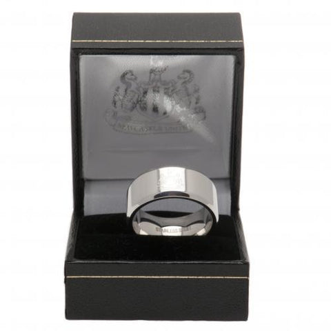 Newcastle United FC Band Ring Small