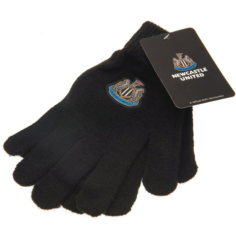 Newcastle United FC Knitted Gloves Junior