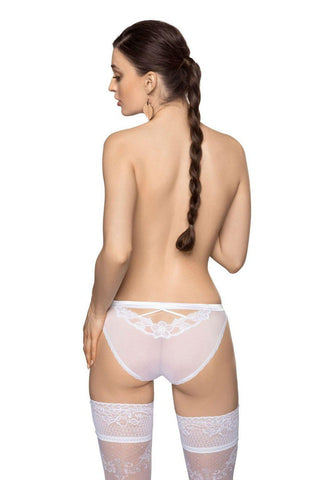 Roza alani White Brief Women Briefs | AYNAYA Women's Lingerie