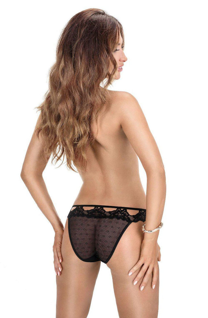 Roza Falka Brief Black Women Briefs | AYNAYA Women's Lingerie