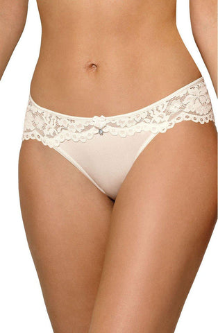Roza Newia Ivory Brief Women Briefs | AYNAYA Women's Lingerie