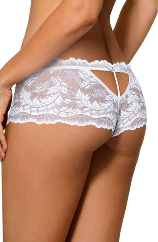 Roza Sefia Brief White Women Briefs | AYNAYA Women's Lingerie