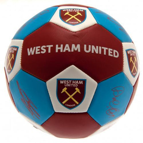 West Ham United FC Nuskin Football Size 3