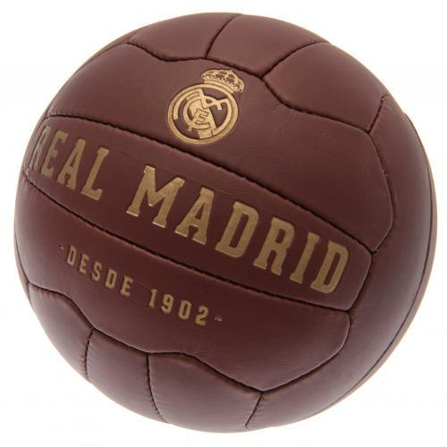 Real Madrid FC Faux Leather Football