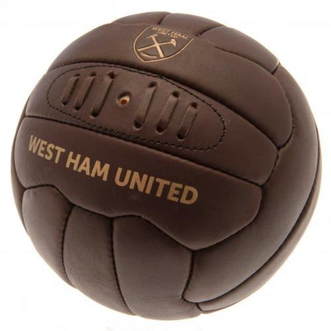 West Ham United FC Retro Heritage Football