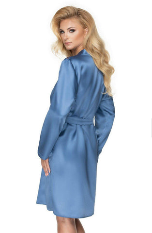 Sapphire Azure Dressing Gown for Women | AYNAYA Women's Lingerie