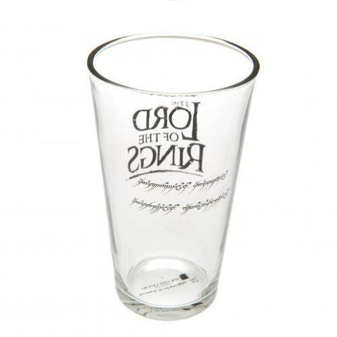 The Lord Of The Rings Large Glass