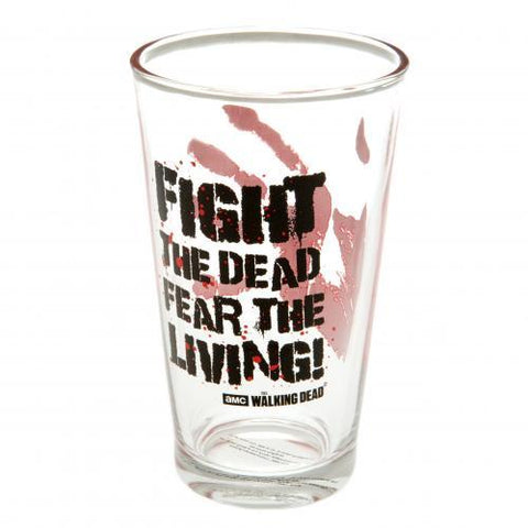 The Walking Dead Large Glass FTD