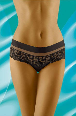 Wolbar Cantata Black Women Briefs Women Thong | AYNAYA Women's Lingerie
