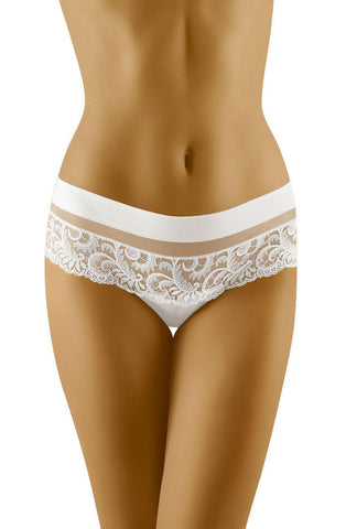 Wolbar Cantata White Women Briefs Women Thong | AYNAYA Women's Lingerie