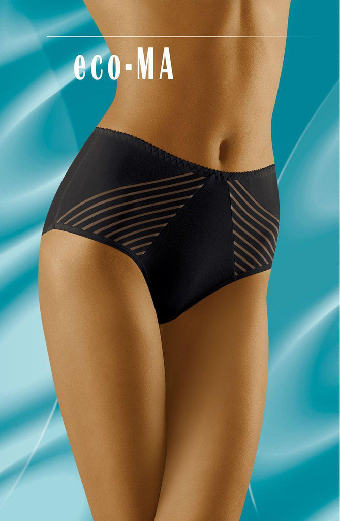 Wolbar Eco a Black Women Briefs | AYNAYA Women's Lingerie
