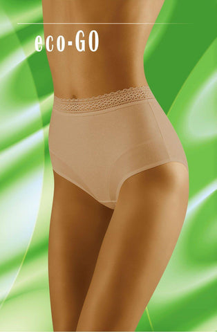 Wolbar Eco Go Beige Women Briefs | AYNAYA Women's Lingerie