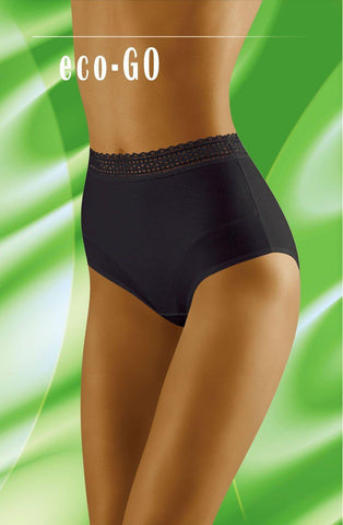 Wolbar Eco Go Black Women Briefs | AYNAYA Women's Lingerie