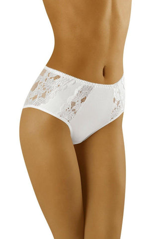 Wolbar Eco Vu White Women Briefs | AYNAYA Women's Lingerie
