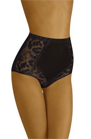 Wolbar Eleganta Black Women Briefs Women Thong | AYNAYA Women's Lingerie
