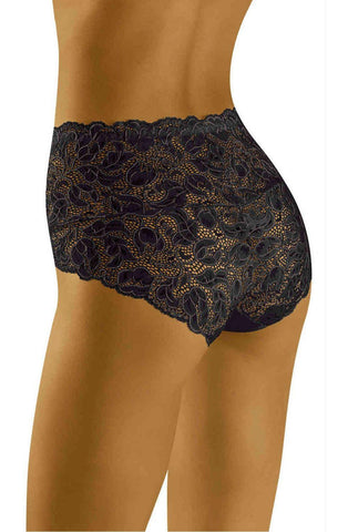Wolbar Teri Black Women Briefs Women Thong | AYNAYA Women's Lingerie