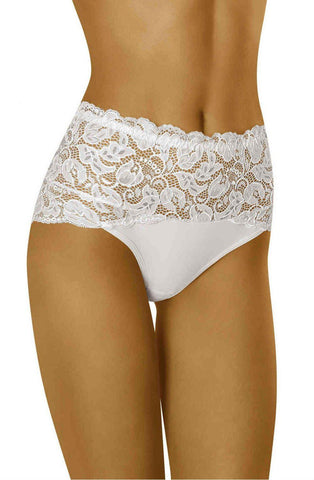 Wolbar Teri White Women Briefs Women Thong | AYNAYA Women's Lingerie