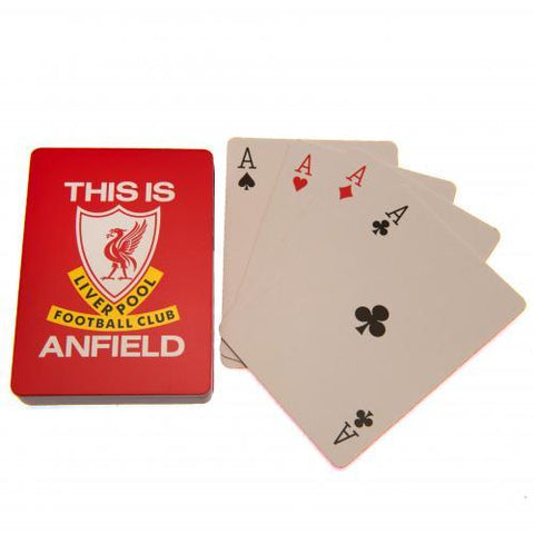 Liverpool FC Playing Cards TIA