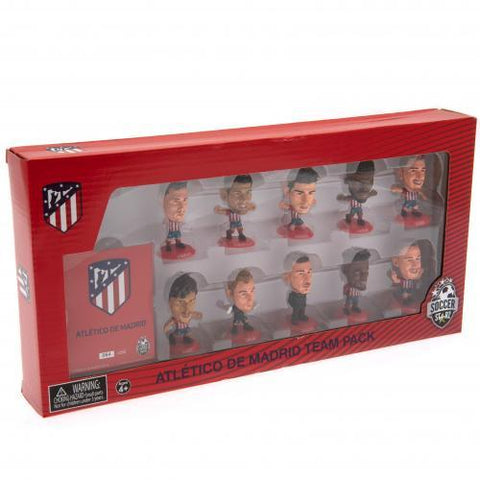 Atletico Madrid FC SoccerStarz 10 Player Team Pack