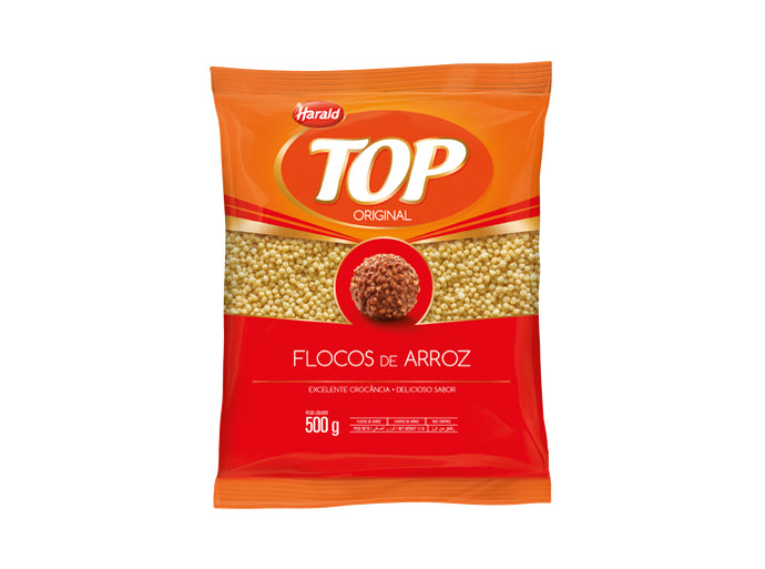 Flocos de Arroz Top 500g - Harald - Mix Doces e Festas
