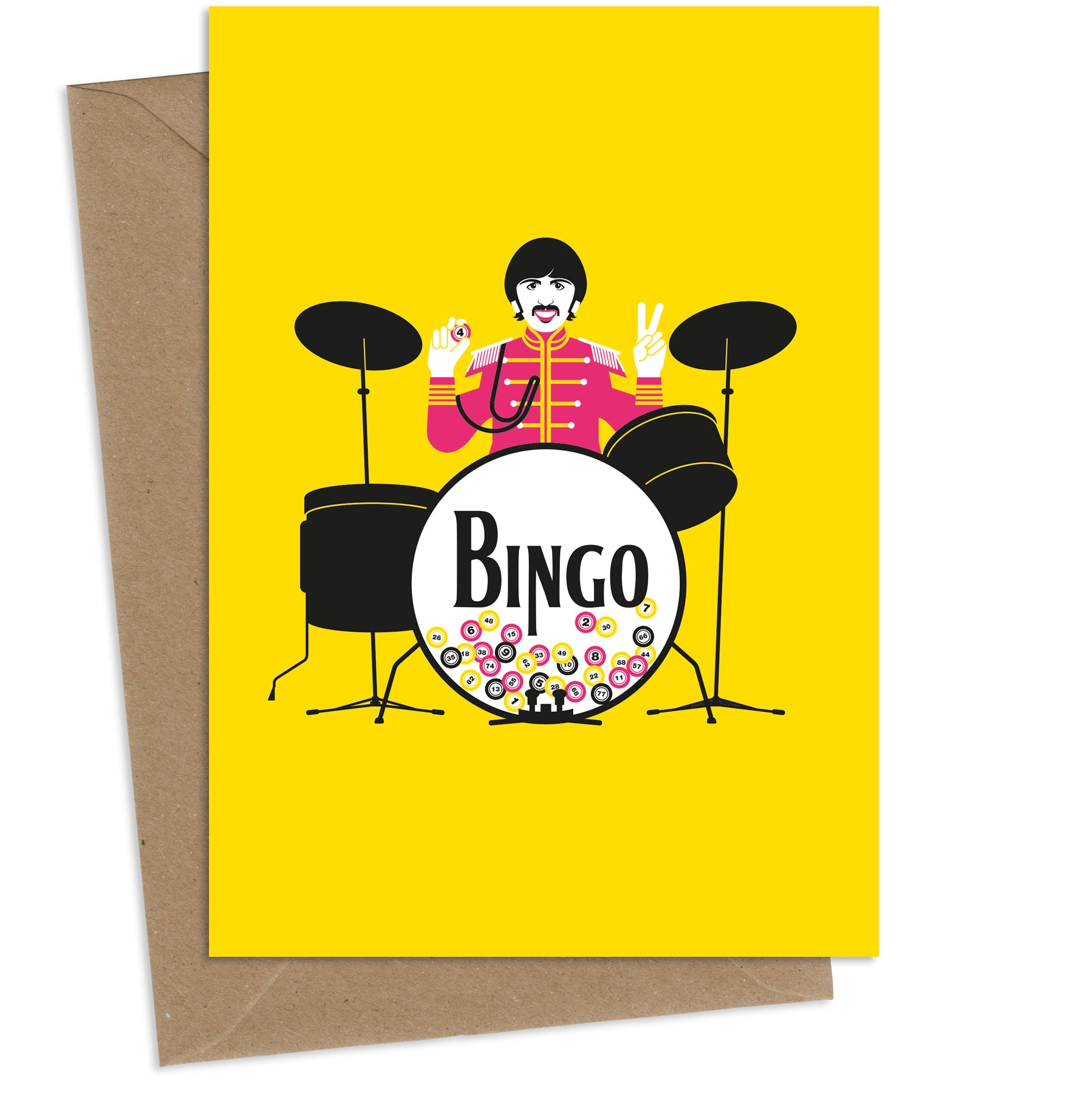 Bingo Starr : Greeting Card