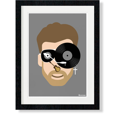 George Michael : Art Print