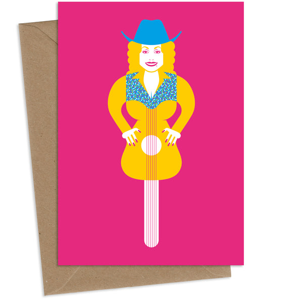 Lolly Parton : Greeting Card