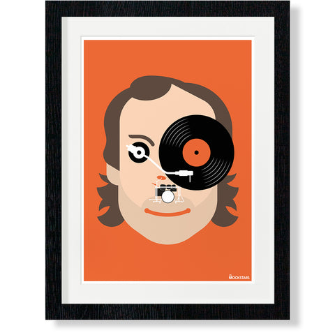 Phil Collins : Art Print