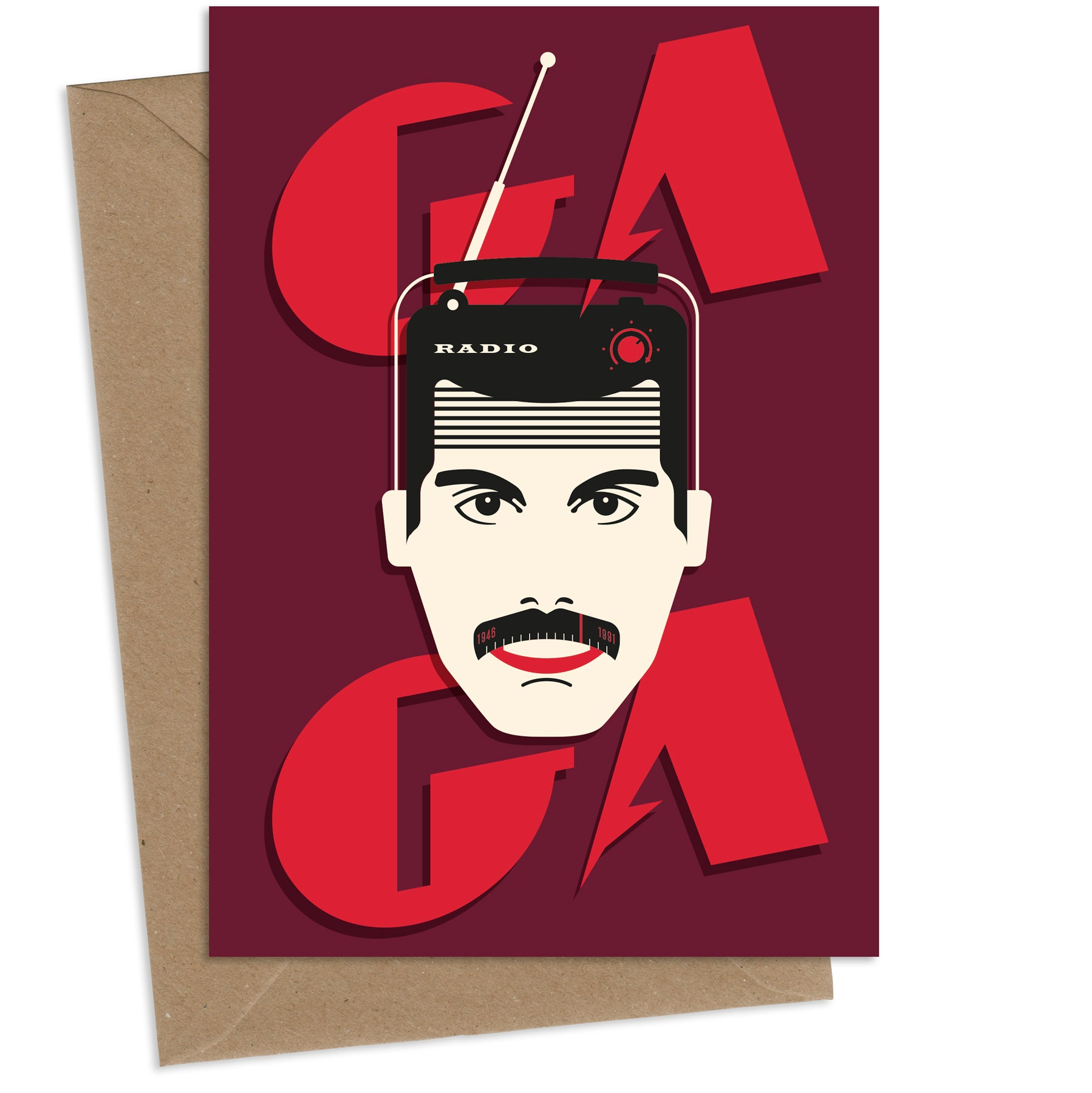 Ga Ga : Greeting Card
