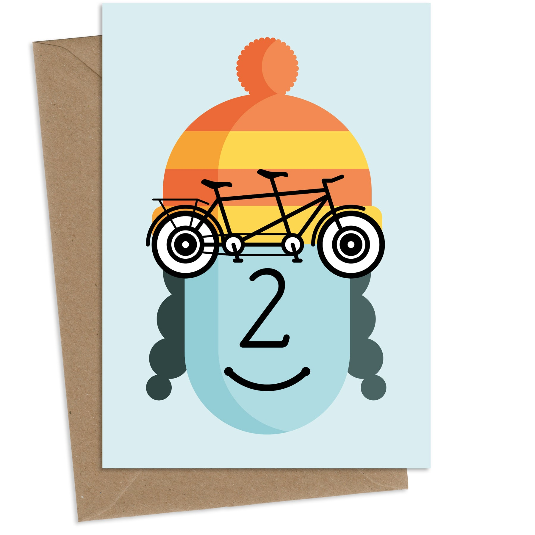Tammy Tandem : Greeting Card