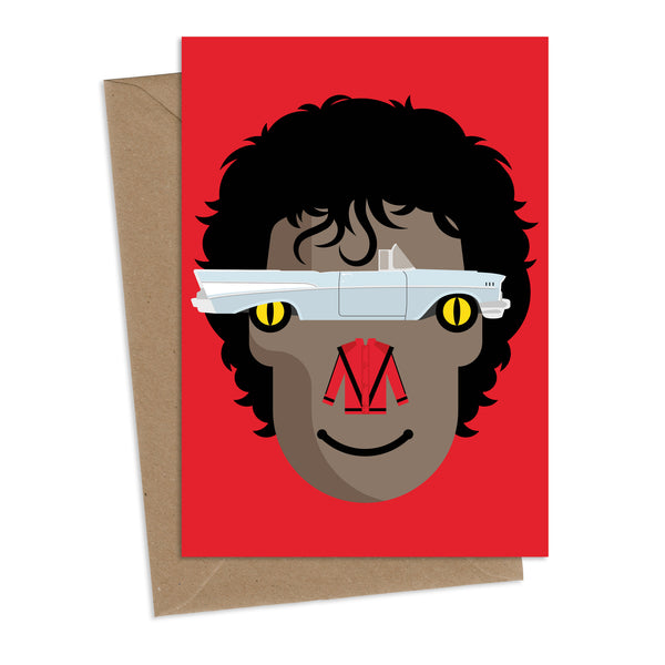 Thriller 'Eyes' : Greeting Card