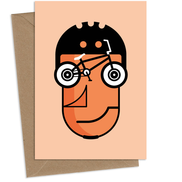 Trickster Rickster : Greeting Card