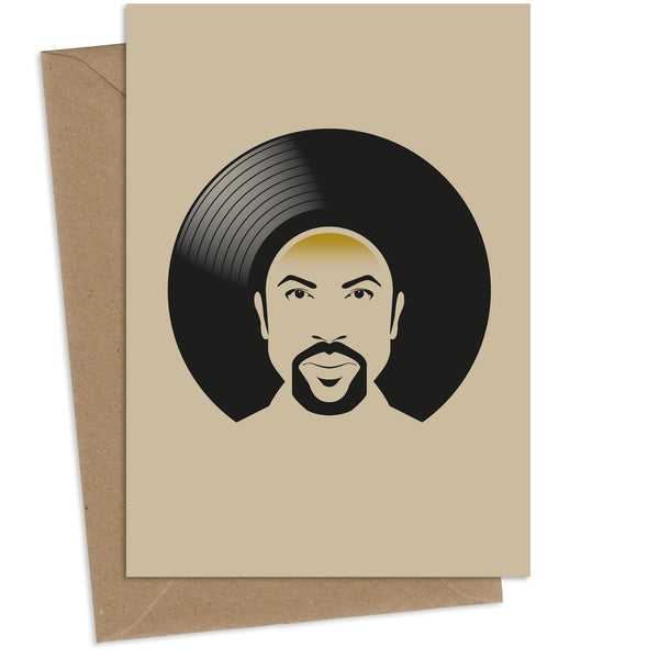 Vinyl Richie : Greeting Card