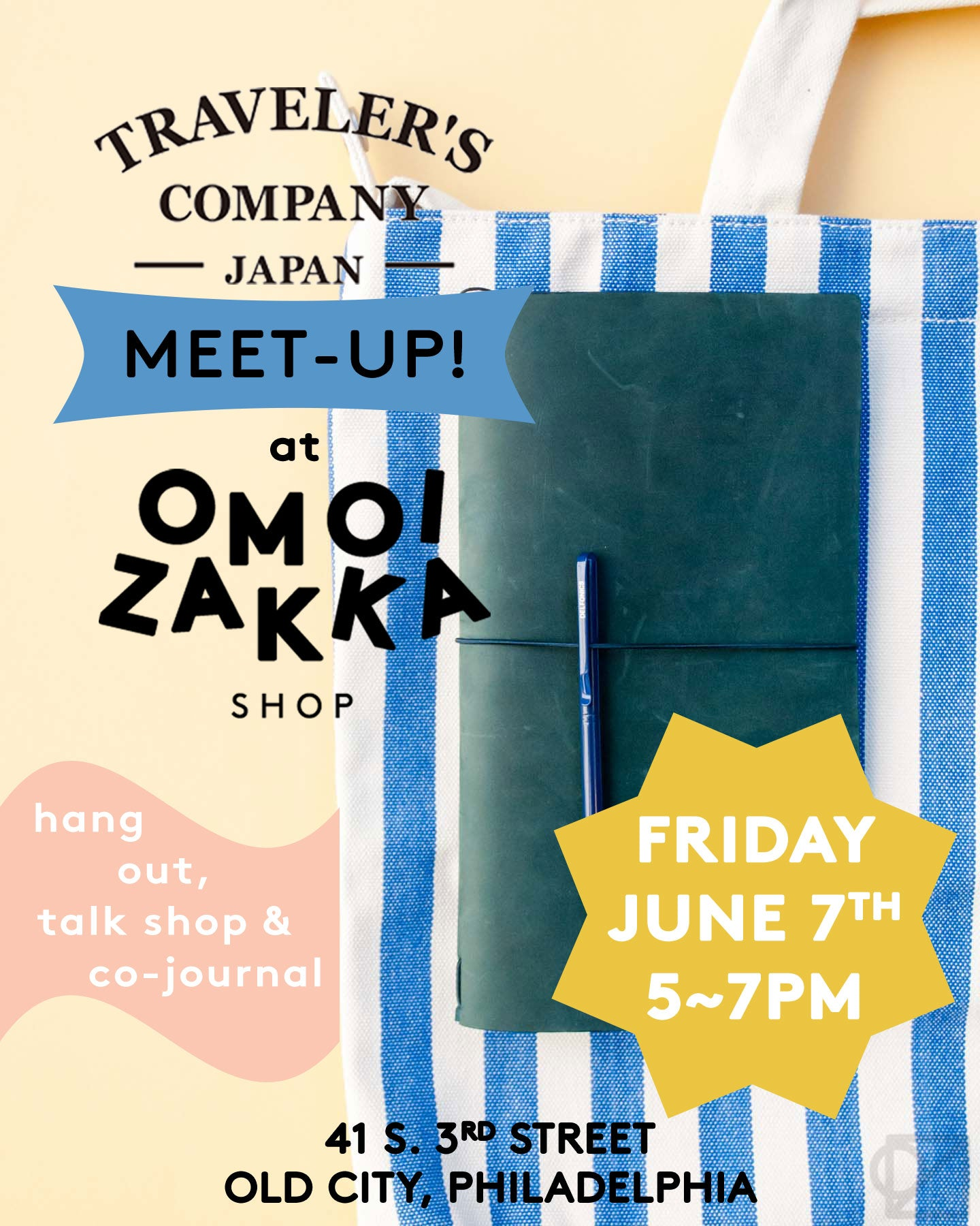 You're Invited to Our Late Spring TRAVELER'S Meet-Up!