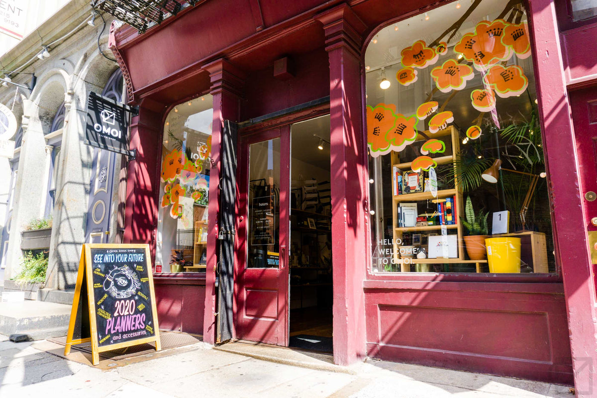 September at the Old City shop