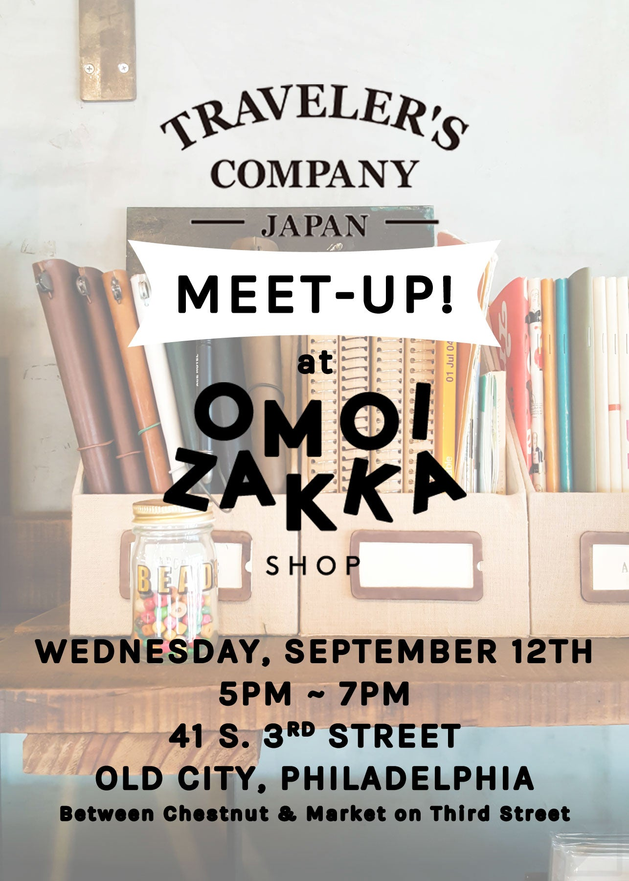 Our first ever TRAVELER'S Company MEETUP!