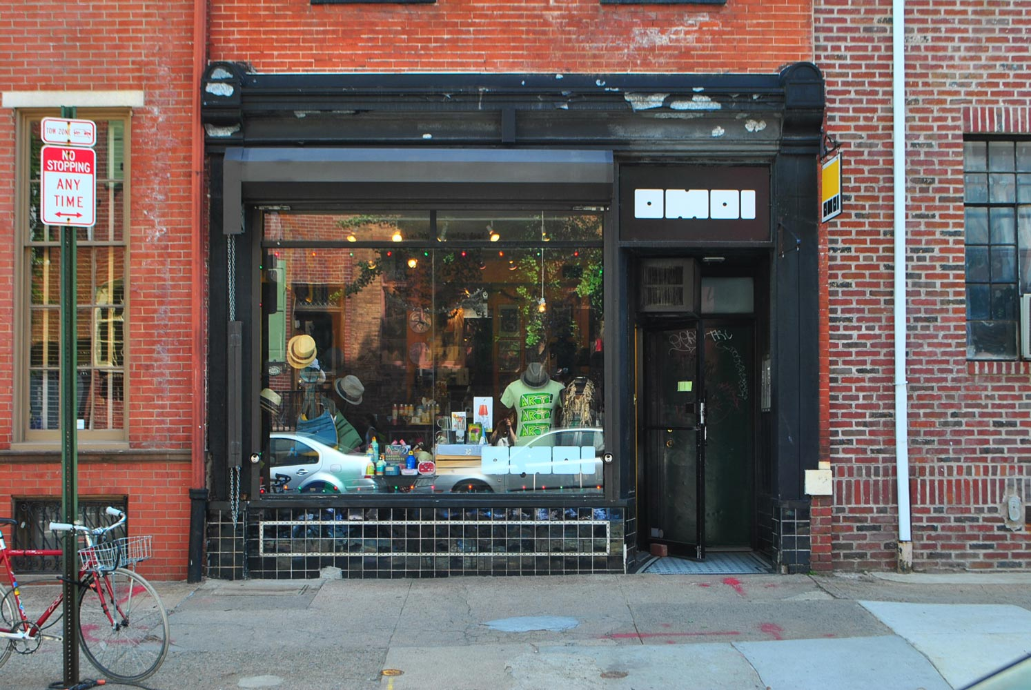 The storefront in 2010