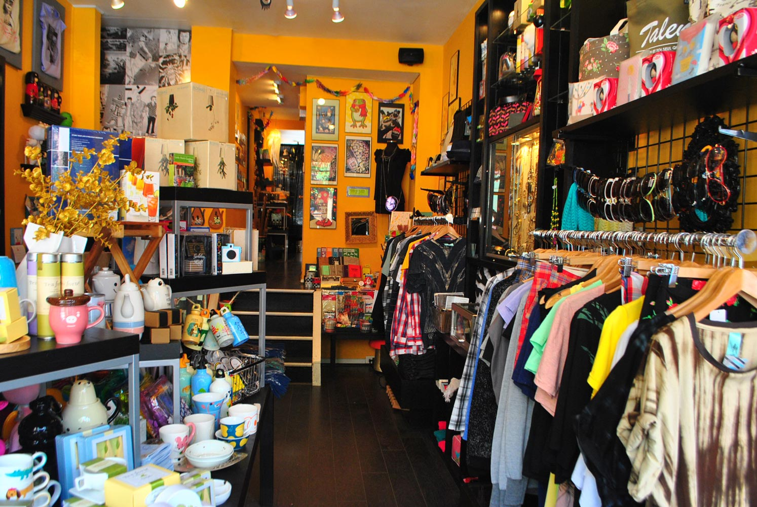 The store in 2010, when the front was full of clothes!